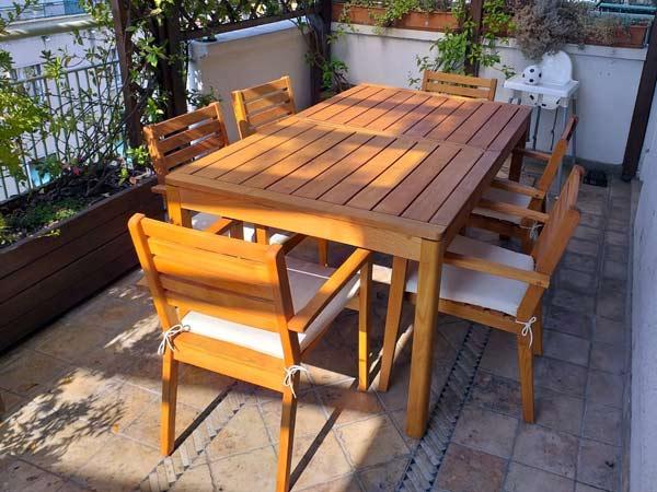 Arredo giardino Milano Novate Milanese – Mobili tavoli sedie ...
